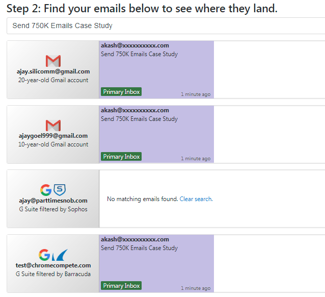 Gmass.co Email Lands In Inbox