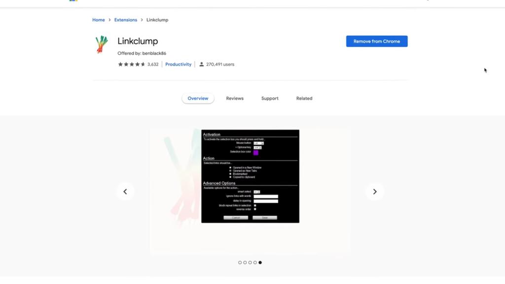 Linkclump Google Chrome SEO Extension