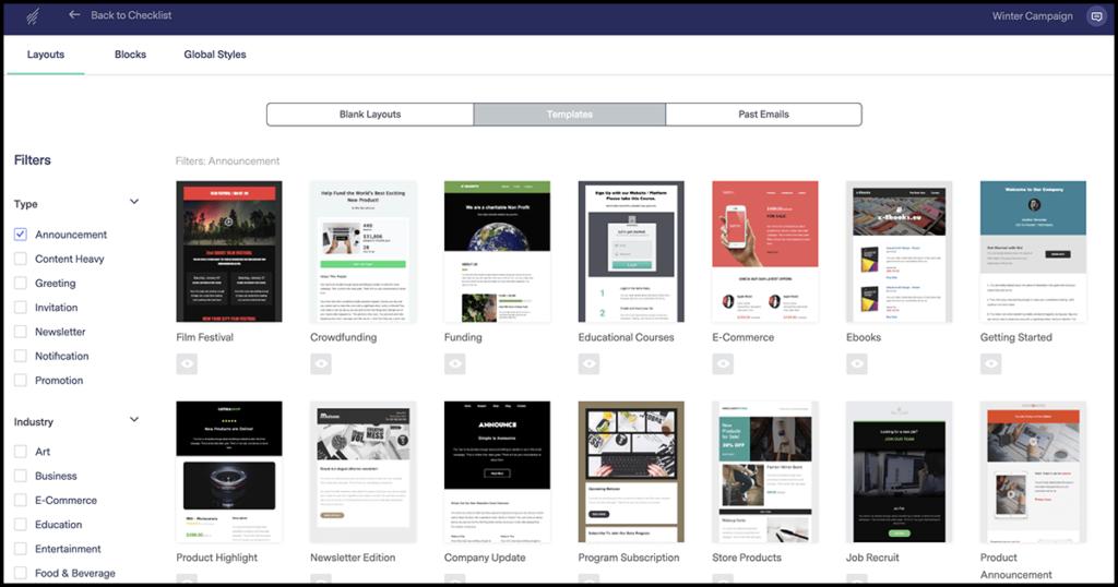 Mailerlite Alternative Benchmark Email